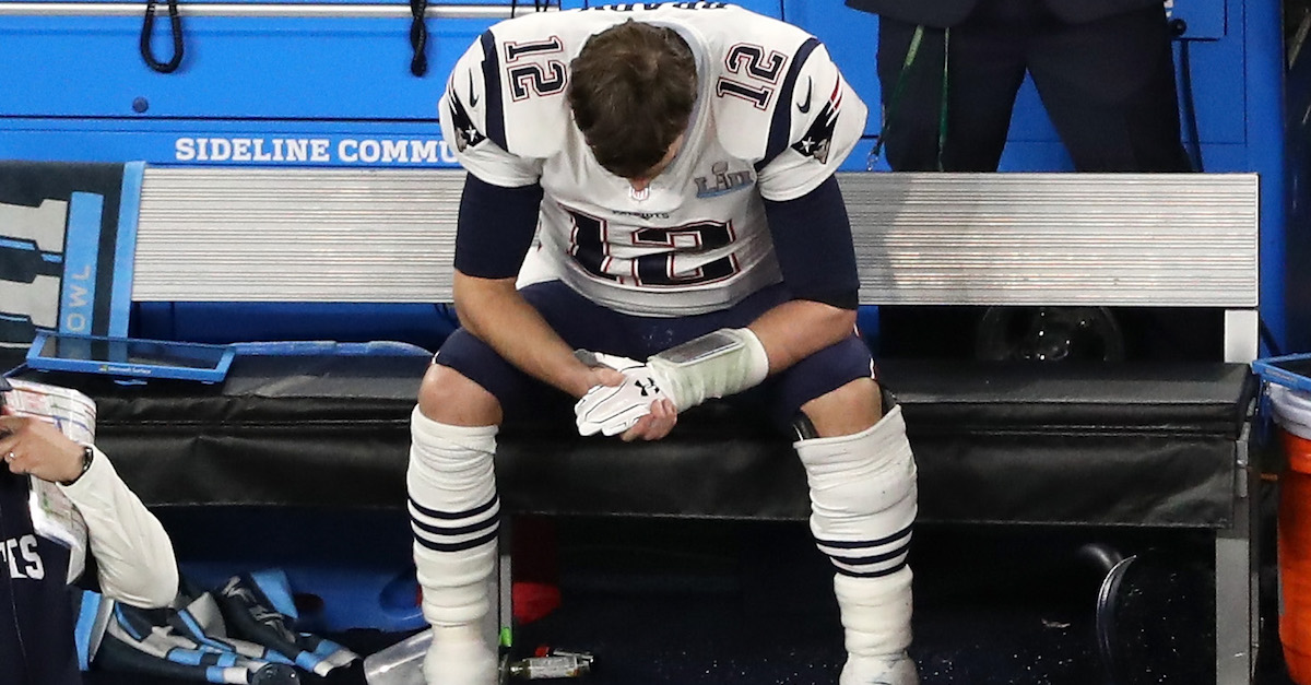 Gisele Bundchen shares emotional post of Patriots QB Tom Brady coping with defeat