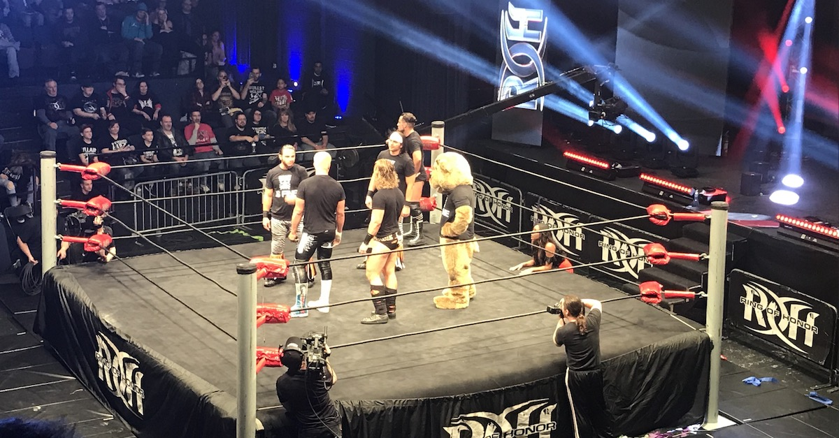 Bullet Club teases split at Ring of Honor Atlanta tapings
