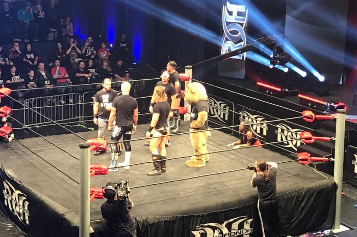 Bullet Club teases split at Ring of Honor Atlanta tapings