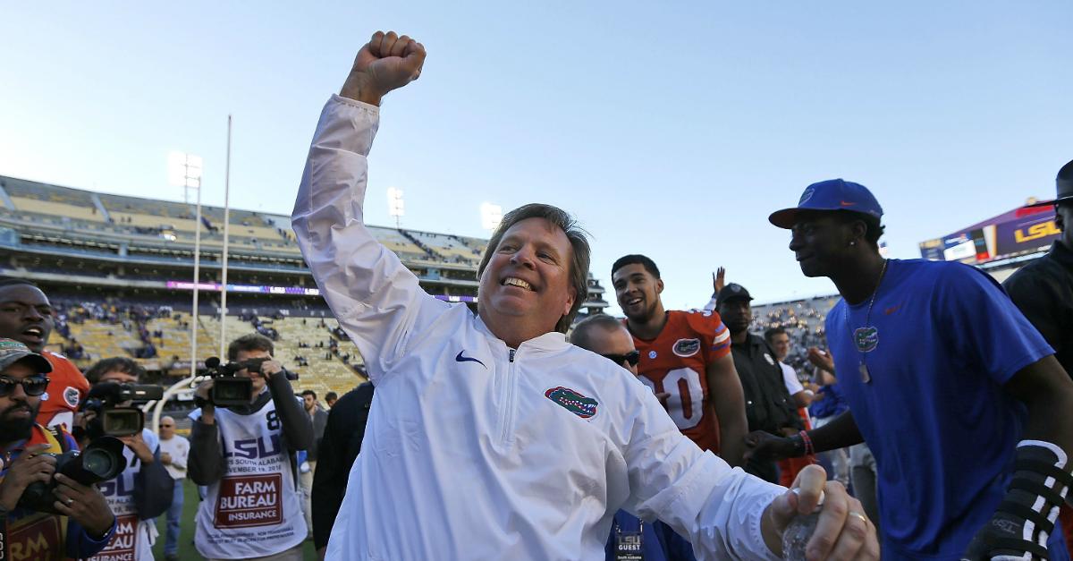 Former Florida head coach Jim McElwain has found his next coaching job
