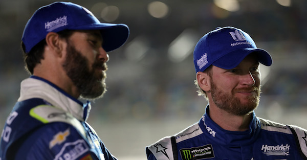 Dale Earnhardt Jr details why he isn't going to panic about Jimmie Johnson's slow start — yet