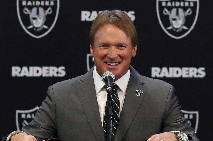 Jon Gruden's 2019 NFL Draft is Setting Up to Be a Complete Dumpster Fire