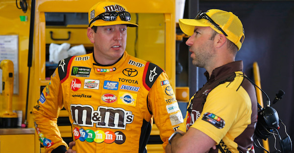 NASCAR fans delighted as Kyle Busch suffered a huge setback with a pit road mistake