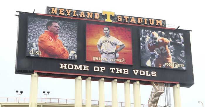 Report: Tennessee finally plans to remove Butch Jones from jumbotron