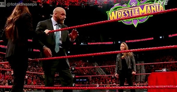Ronda Rousey officially has a match set for WrestleMania 34