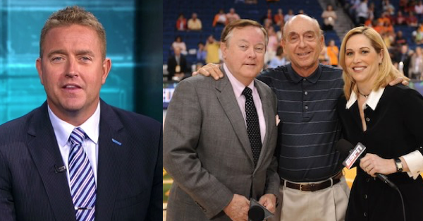 "Kirk Herbstreit pays tribute to one of the ""true greats"" retiring from ESPN after 36 years"