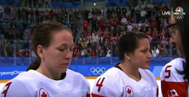 Canadian star under fire for actions during medal ceremony