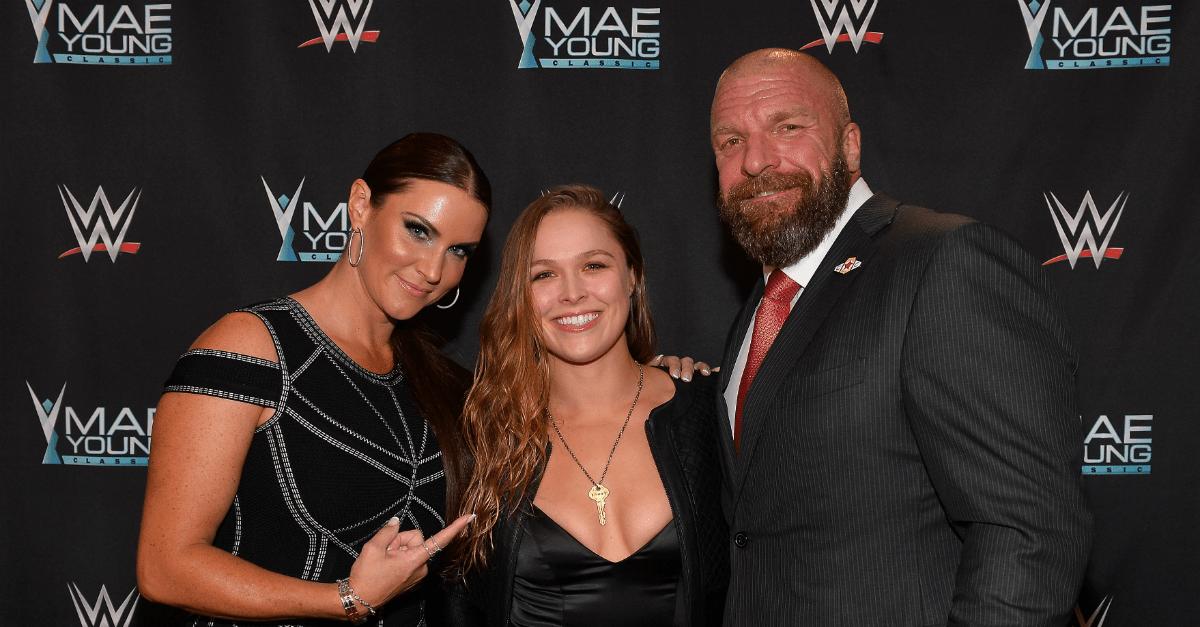 Stephanie McMahon WrestleMania Annoucement