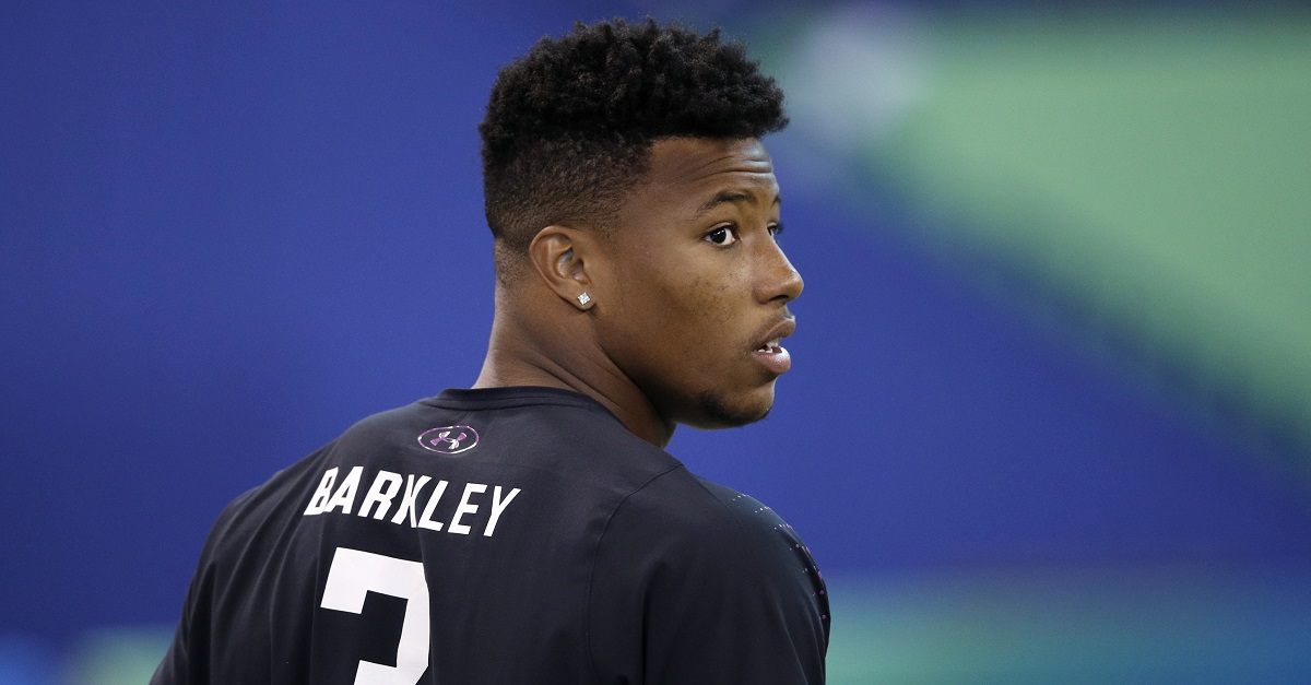 NFL assistant coach says exactly what he would do 'to be able to draft' Saquon Barkley