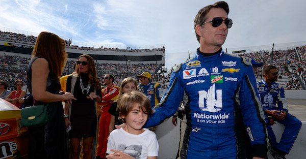 Jeff Gordon's son is officially following in his father's footsteps