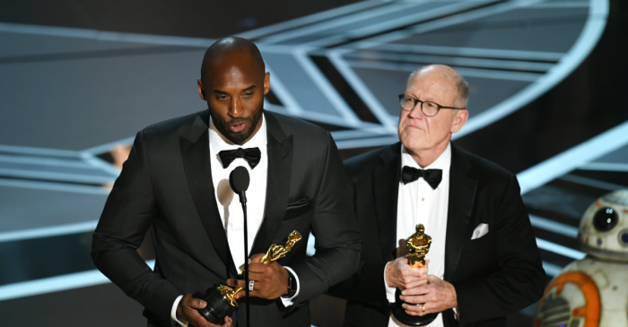 A rarely seen side of Kobe Bryant was on display after his controversial win