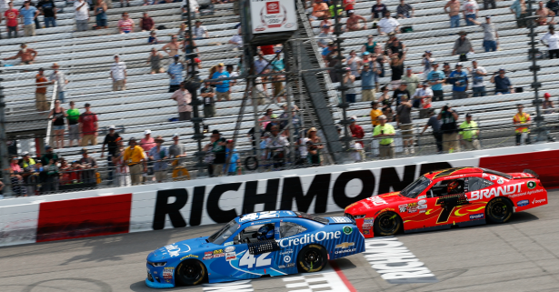 A NASCAR track gets big news about its sponsorship deal