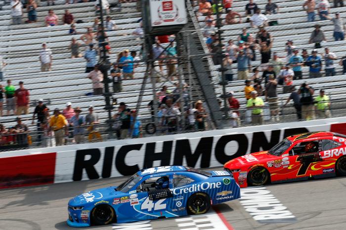 A NASCAR track gets big news about its sponsorship deal