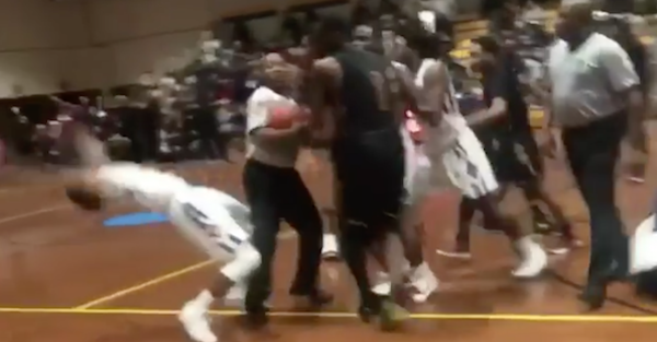 This high school kid has mastered the art of flopping