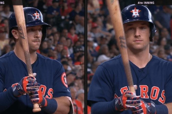 Astros Infielder Alex Bregman Shaves Mustache in Middle of Game