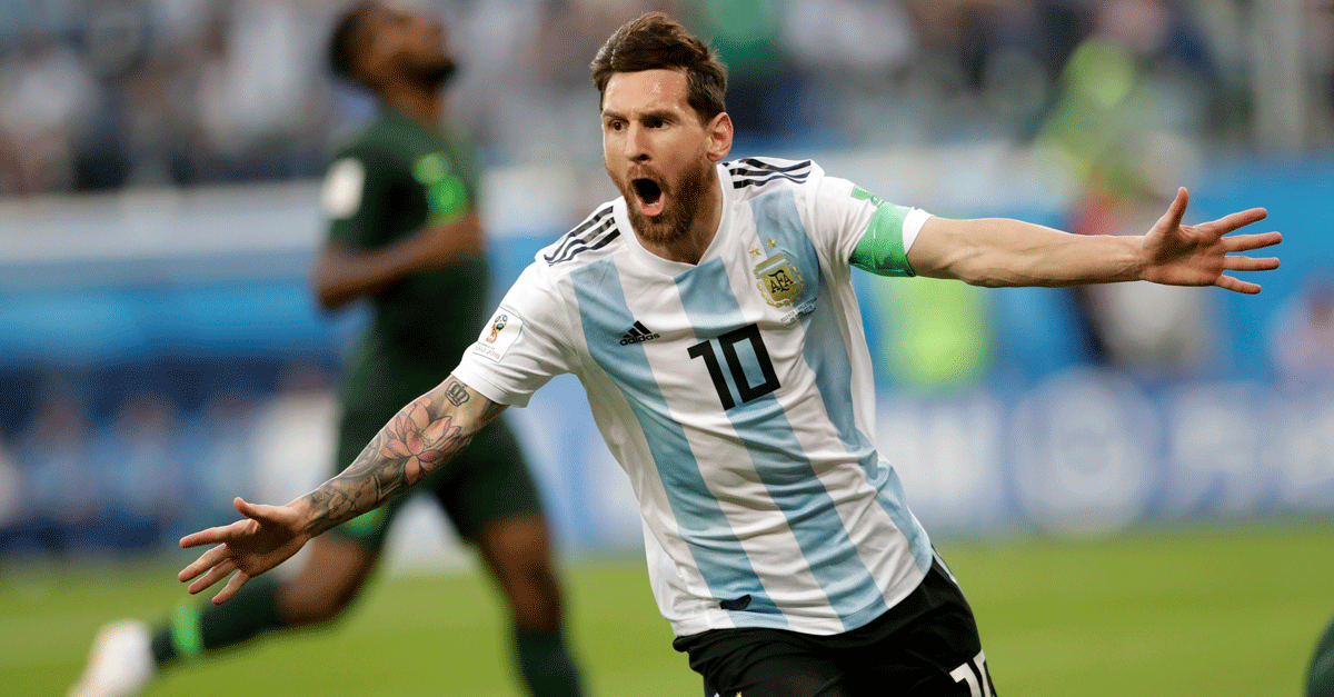 Argentina Announcer Win