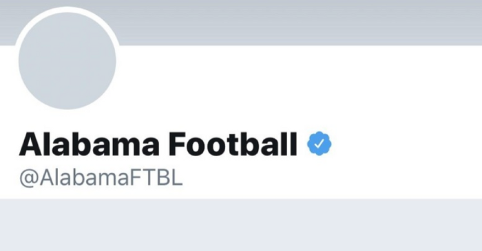 Alabama Football Escapes Twitter Jail… Again