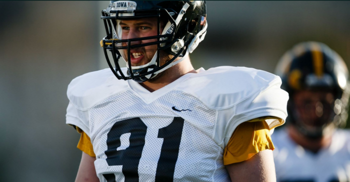 Iowa Lineman Arrested After Thinking Cop Car Was Uber
