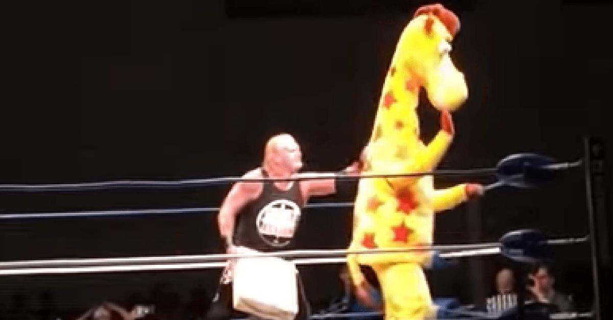 Geoffrey The Giraffe