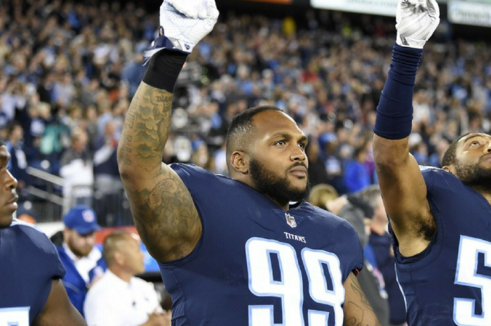 Titans' Pro Bowler Says He'll Protest During National Anthem, Pay the Fines