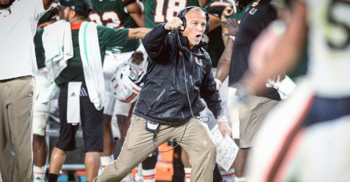 Mark Richt Loves One Thing More Than Miami Football