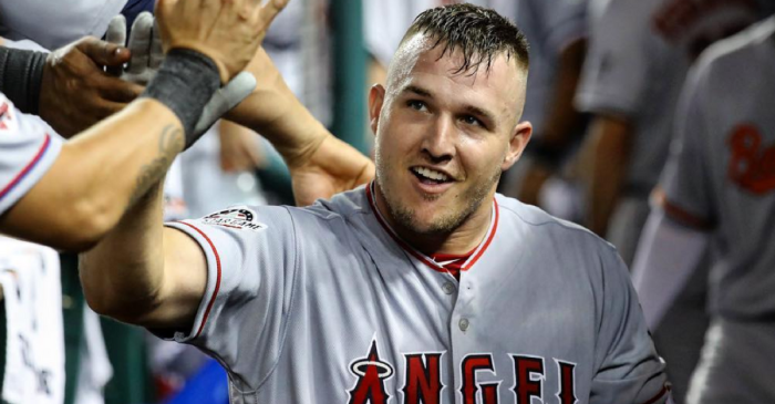 Mike Trout Squashes Beef With MLB Commissioner