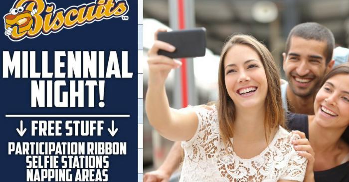 Baseball Team's Upcoming 'Millennial Night' is Actually Angering Millennials