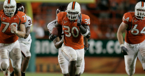 Legendary Miami Hurricanes Running Back Dies at 33