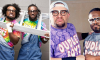 Xavier Woods and Kofi Kingston as Bubba Ray and D-Von Dudley