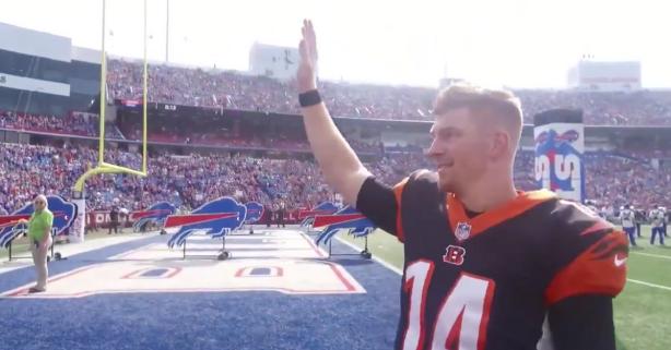 Why Buffalo Bills Fans Gave Andy Dalton a Standing Ovation