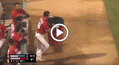 Baseball Player Meltdown