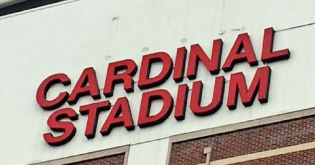 """Louisville Officially Ditches """"Papa John's"""" Sign From Football Stadium"""