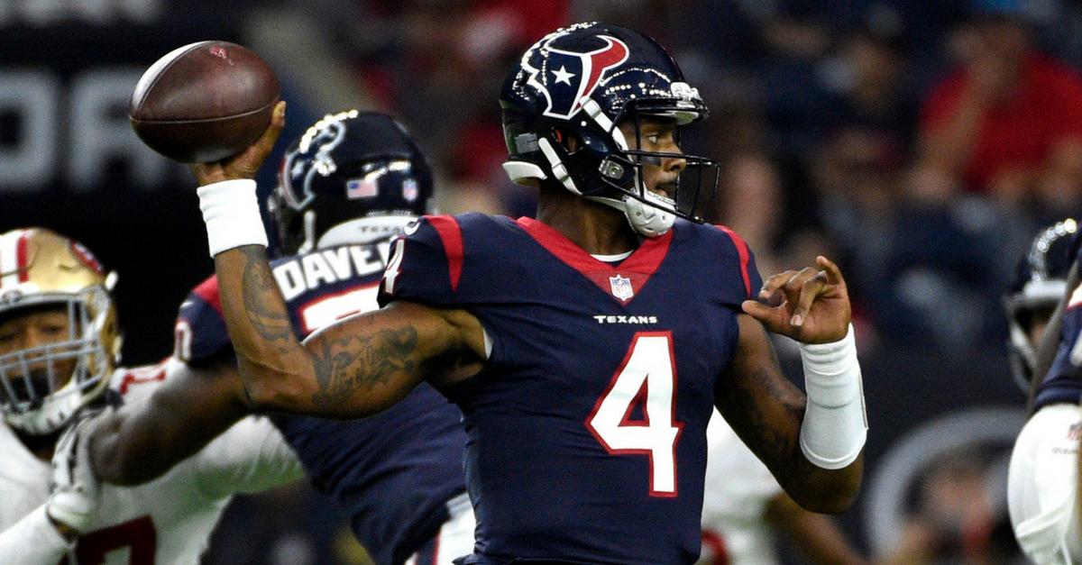 Deshaun Watson NFL takeover