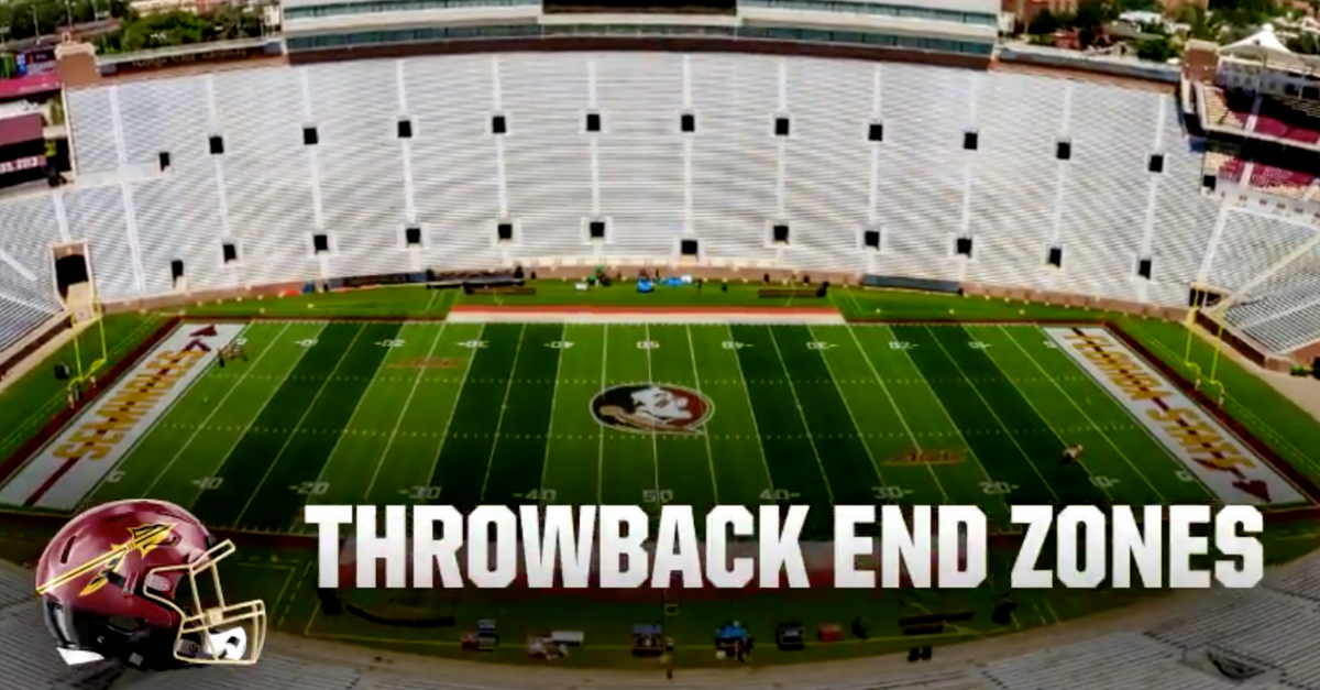 Florida State End Zones