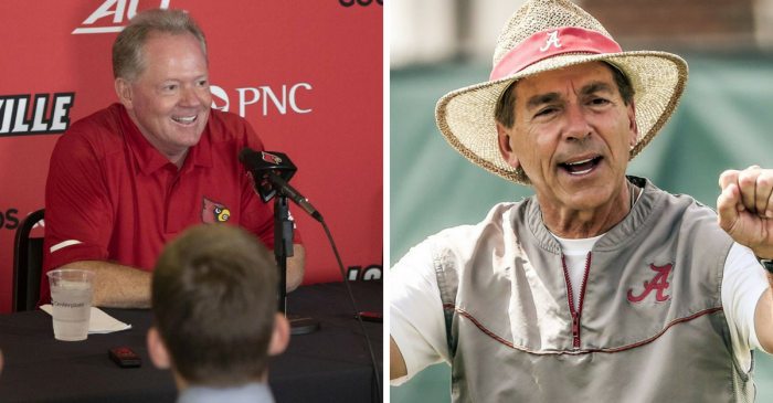 Louisville is Talking Trash, But Don't Expect Alabama to Listen