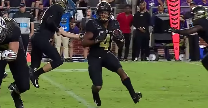Purdue Freshman Put College Football on Notice in Record-Breaking Debut