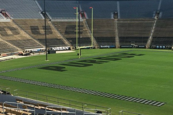 Purdue's New Field Design at Ross-Ade Stadium is… Different