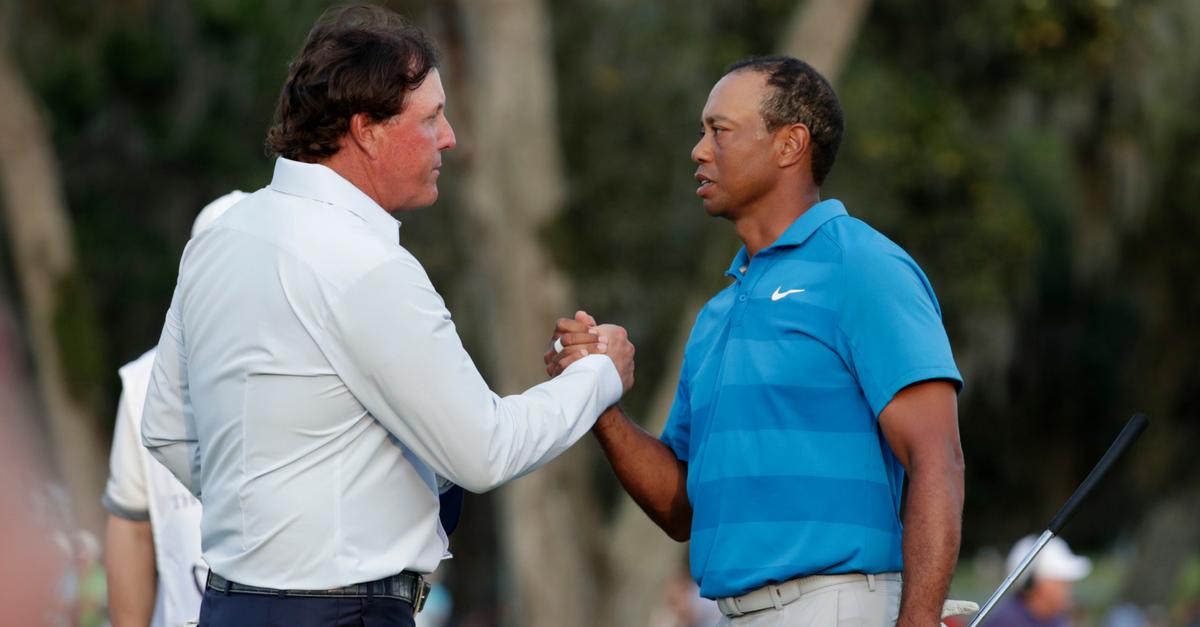 Tiger v Phil: The Match