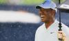 Tiger Woods Tee Off Photos