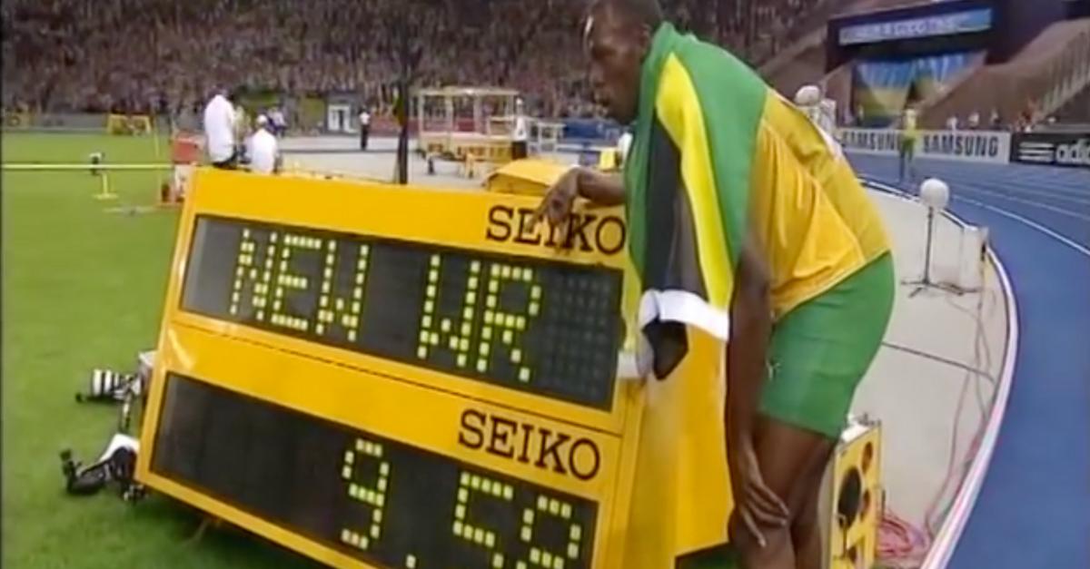 Usain Bolt 100m WR