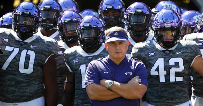 "Gary Patterson Blasts Reporter for Calling TCU a ""Roster of Rejects"""