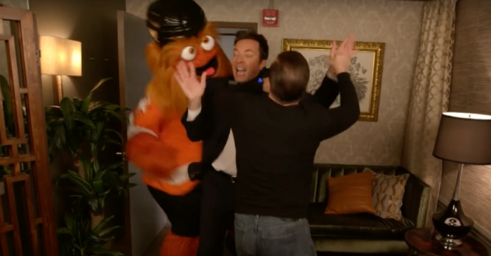 The Philadelphia Flyers New Mascot is Already Fighting Hollywood Royalty