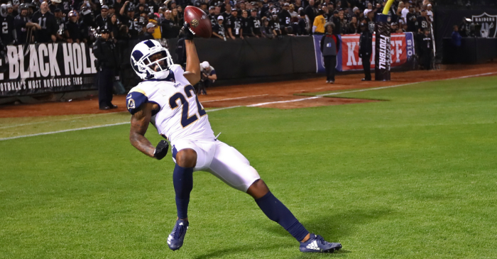The Easiest and Funniest $13,000 Fine Marcus Peters Will Ever Pay