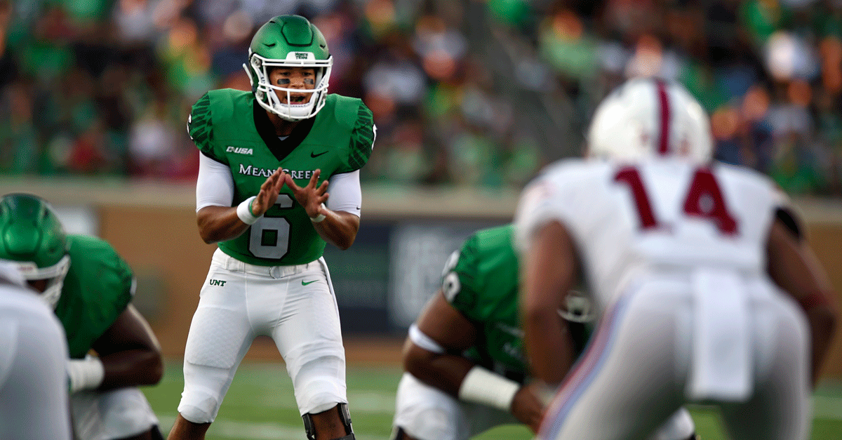 Mason Fine North Texas QB