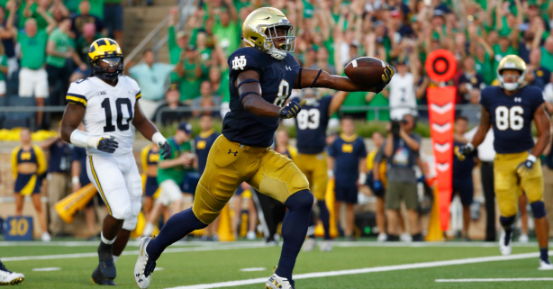Notre Dame-Michigan Rivalry Was Easily the Most Watched Opening-Week Game