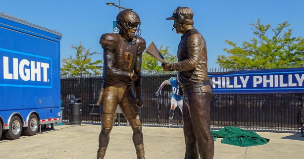 "Thanks to This New Statue, The ""Philly Special"" Will Now Never Go Away"
