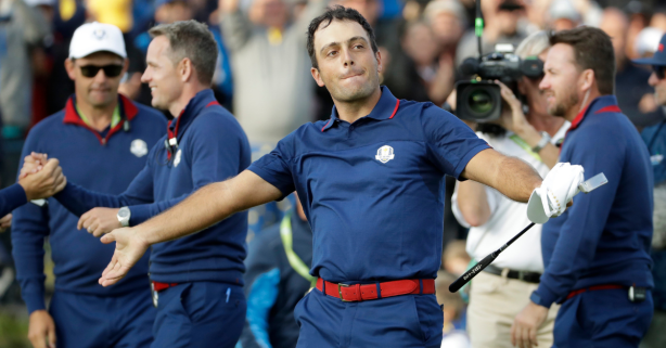 Europe Sweeps Afternoon Matches, Takes Early Ryder Cup Lead Over U.S.