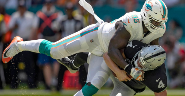 Roughing the Passer Rule Costs Miami Dolphins Defender His Season