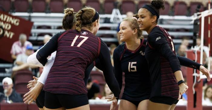 Seminoles Volleyball Continues Smoking Hot ACC Start