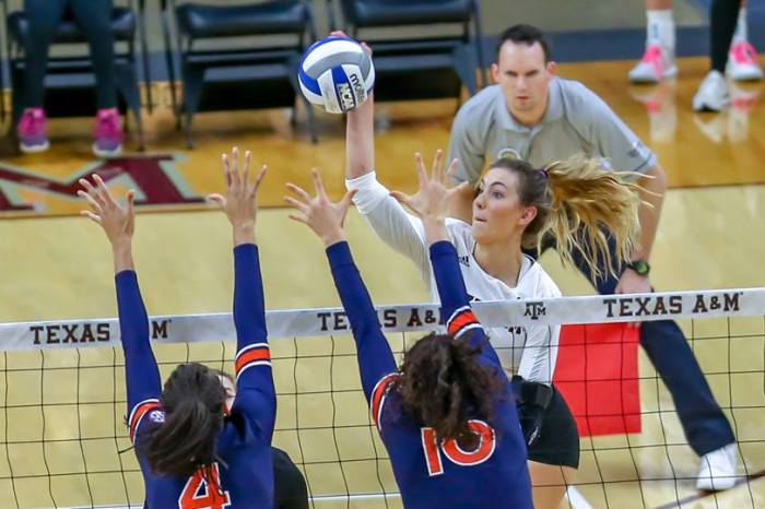 What's Behind the Road Woes for the Texas A&M Volleyball Team?